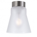 BF9, 40w B22, frost glass with satin chrome metalware,1958mm high, 160mm wide