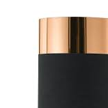 BF8, 25w B22, black and copper shade, 150mm diameter, 220mm high