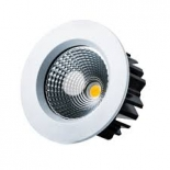 Apex, 15w 1015lm 3000k, 70 degree beam angle, dimmable, white, textured black or anodised aluminium finish, 10w & 13w models available, 5 year warranty