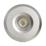 Starlight 3w LED, silver, 4000k or 3000k, dimmable, 45mm face diameter, 40mm high, 30mm cut out