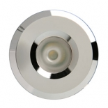 Starlight 3w LED, chrome, 4000k or 3000k, dimmable, 45mm face diameter, 40mm high, 30mm cut out