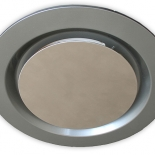 Airbus 200mm silver round fascia, also available to suit Airbus 225 & 250