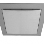 Airbus 200mm silver square fascia, also available to suit Airbus 225 & 250