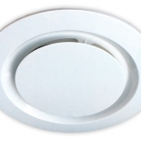 Airbus 200mm white round fascia, also available to suit Airbus 225 & 250