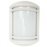 EX75, 1 x 60w E27, white, IP44, 260mm high, 180mm wide