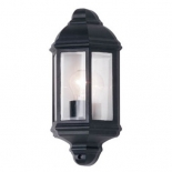 EX39, 60w E27, available in black & beige, clear glass diffuser