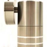 EX2, 1lt 5w GU10 led, fixed exterior, titanium, IP65