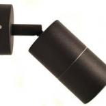 EX2, 1lt 5w GU10 led, adjustable exterior, black, titanium & bronze available, IP65