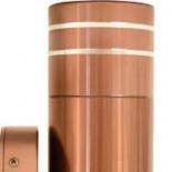 EX2, 2lt 5w GU10 led, bronze exterior, available in 316 s/s, titanium, black , IP65