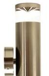 EX3, 2lt 5w GU10 led, titanium exterior with clear acrylic accents, IP65