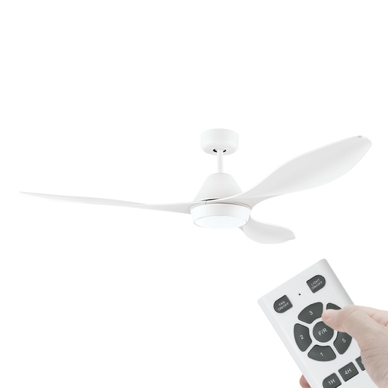 Ceiling fans boardwalk fans lighting nevis 52 dc ceiling fan indooroutdoor rated 3 white abs blades aloadofball Gallery