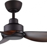 """Trinity oil rubbed bronze motor with koa ABS blades, 56"""" DC motor, indoor/outdoor rated, 3 year in home warranty, 8 speed remote control, seabreeze technology"""