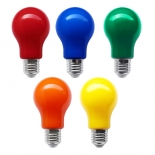 Coloured LED GLS , 3w,  B22 & E27, blue, green, red, orange & yellow