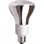 R80, 240v available in 15w cfl warm white only or 60w incandescent