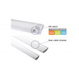 LED OY29, LED linear batten, CCT,  35w, 3500 lumens, white/opal diffuser, 1200mm long, also available in 20w 1900 lumens, 600mm long
