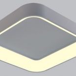 OY53, 28w led, 2240 lumens (approx), 450mm square, textured black finish with opal bevelled diffuser, non dimmable