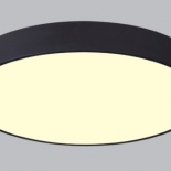 OY53, 28w led, 2240 lumens (approx), 450mm diameter, available in textured white or black, with opal diffuser, non dimmable