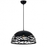 P2, 25w E27, Black metalware, 300mm diameter, 160mm high, 2000mm suspension cable, also available in bronze & white, 40cm & 50cm