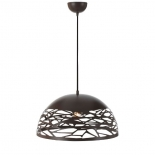 P2, 40w E27, bronze metalware, 400mm diameter, 200mm high, 2000mm suspension cable, also available in black & white, 30cm & 50cm