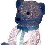 TL77 - Blue Teddy night light, 1 x 5-7w E12