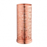TL126, 42w E27, brushed copper, 280mm high, 110mm round