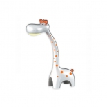 DL14, 6w LED, tri-colour, dimmable, night light, white body