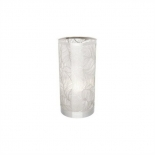 TL43, touch lamp 40w E14, chrome laser-cut shade with glitter lining