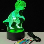TL147, dinosaur visual RGB dimmable lamp, battery or USB operated