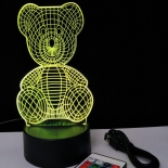 TL147, teddy visual RGB dimmable lamp, battery or USB operated