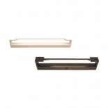 VL14, adjustable Vanity Light, available in black or white, available in 12w, 18w or 24w LED
