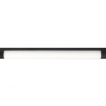 VL12, Vanity Light, matt black with frosted diffuser, available in 3000k or 5000k, available in 18w & 24w