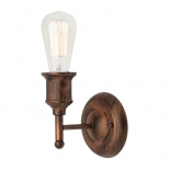 WB14, 40w E27, antique bronze metalware, 140mm projection, 150mm high
